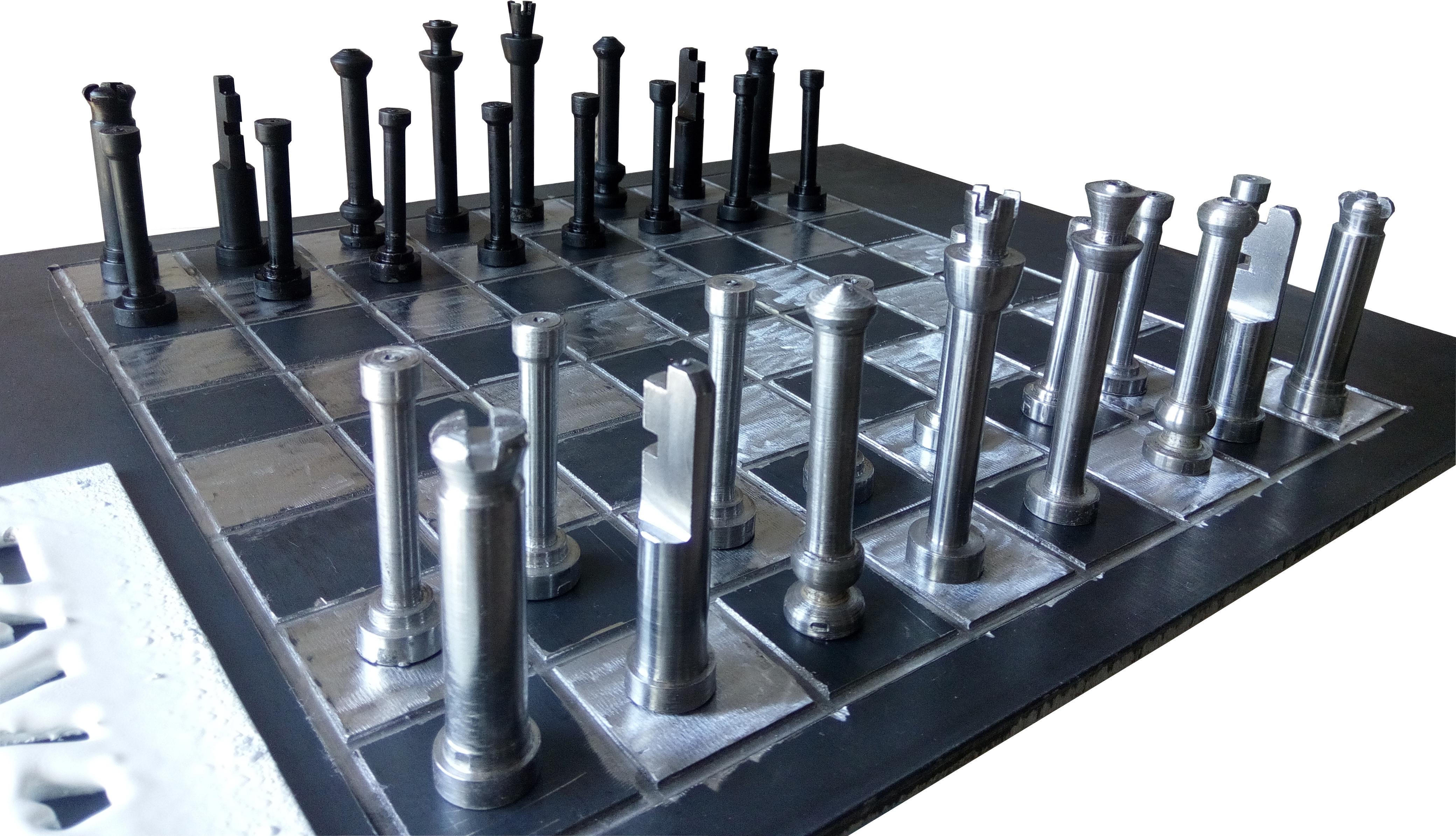 شطرنج فلزی۱
