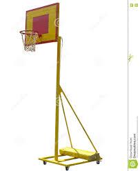 پایه سبد و حلقه بسکتبال