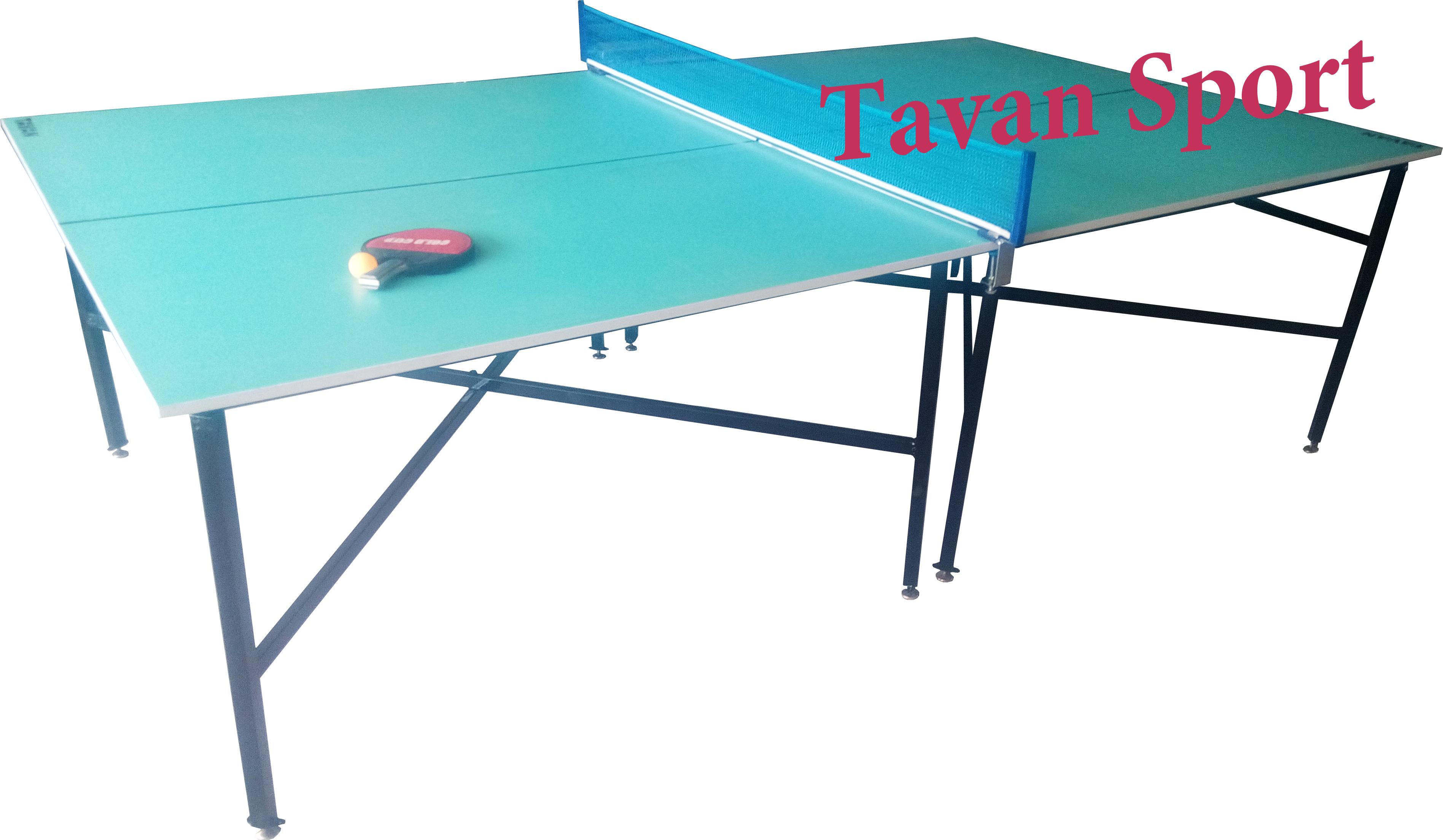 میز پینگ پنگ پایه ضربدری۱