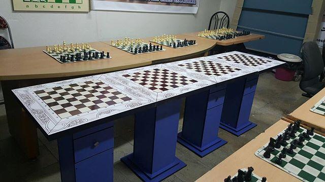 سکو شطرنج کشو دار