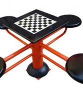 میز شطرنج فلزی ۴ سکو