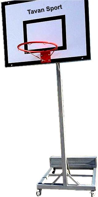 پایه بسکتبال متحرک۳